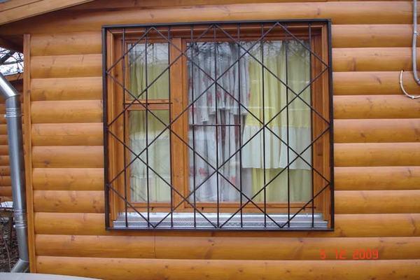 Как сделать решетки на окна своими руками видео